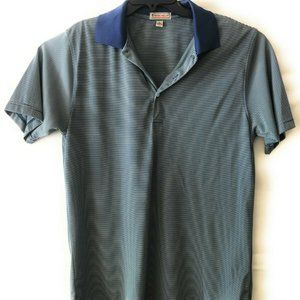 PETER MILLAR Summer Comfort Mens Polo Shirt Blue